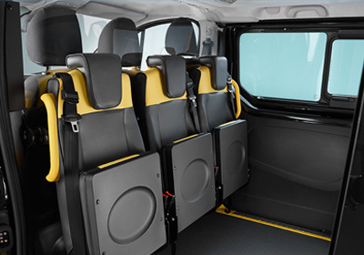 Unique Tip Seats - Specialist Vehicle Manufacturer