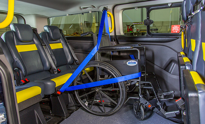 Accessible Ford Tourneo Custom Taxi